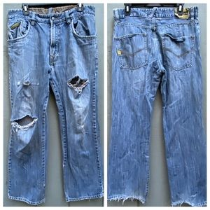 Rusty Original Destroyed Jeans